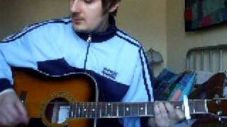 Oasis - Half The World Away Acoustic Cover