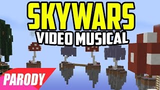 "♪ ""La Canción de SKYWARS"" Parodia Minecraft en Español - Bills"