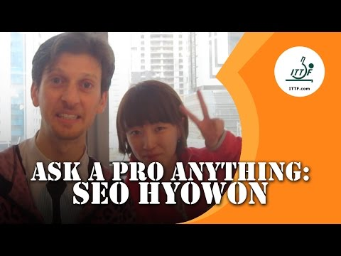 Ask A Pro Anything: Seo Hyowon