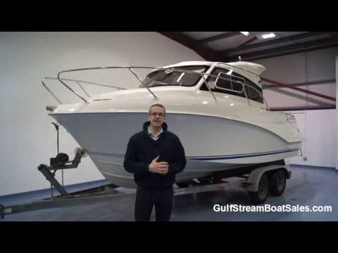 Quicksilver 640 Weekend Diesel For Sale UK -- Water Test and Walk Through by GulfStream Boat Sales