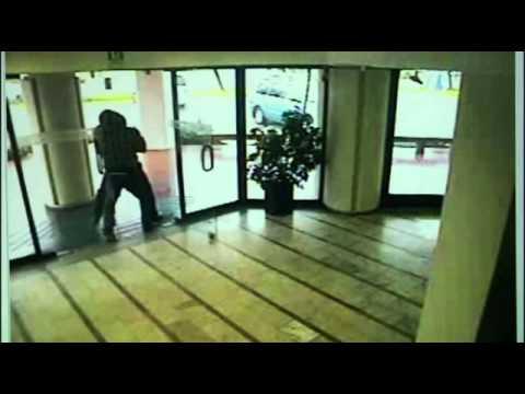 Impactantes imágenes de asalto a banco en Lo Curro