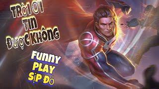 LIÊN QUÂN MOBILE | Funny Gaming Tv vác Supperman đi phá làng phá xóm với vai trò là 1 SP chân chính!