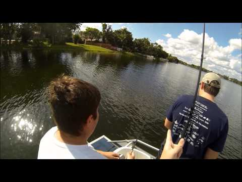 GoPro Hero3 Bass Fishing the Spawn - May 2013
