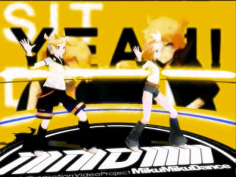 [mmd] Len And Rin Kagamine -  Remote Control video