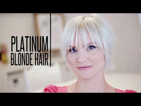 How To Color Platinum Blonde Hair