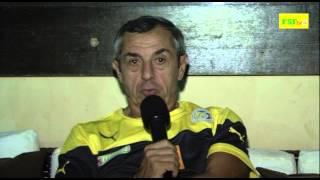 Eliminatoires CAN 2015 | Réaction de Alain Giresse après le match Sénégal // Tunisie