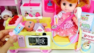 Baby doll Hospital toy play - Baby Doll PoPo