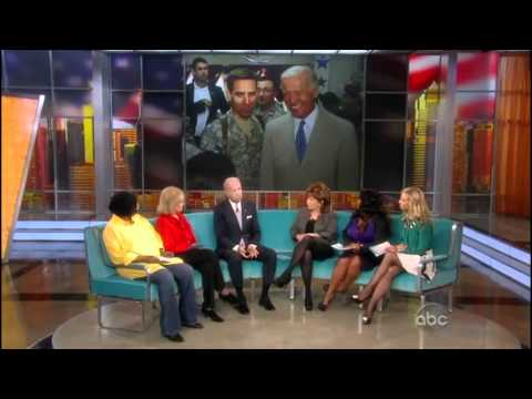 "The View: Biden calls booing gay soldier ""reprehensible"""