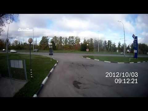 ДТП авария Тольятти на заправке