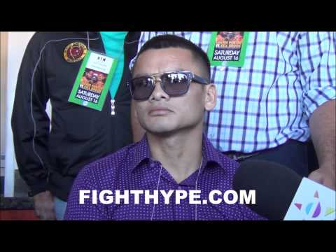 MARCOS MAIDANA ON FLOYD MAYWEATHER HES NOT AS GOOD AS PEOPLE THINKHES HITTABLE