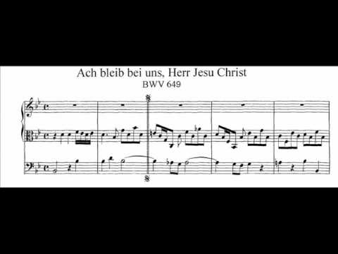 Бах Иоганн Себастьян - Ach Bleib Bei Uns Herr Jesu Christ