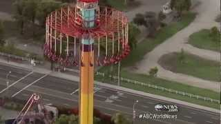 Amusement Park Ride Goes Awry | ABC World News Tonight | ABC News