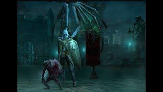 Diablo III Прохождение за  Некроманта (Акт 2)