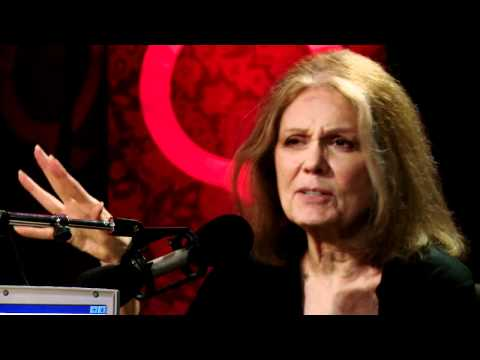 Feminism trailblazer Gloria Steinem in Studio Q