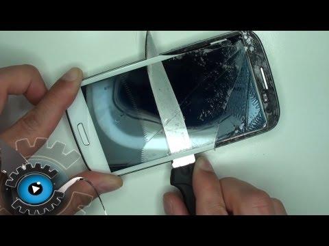 Samsung Galaxy S3 Glas Wechseln Tauschen unter 20€ Reparieren [German/Deutsch][HD][HQ]Glass Repair
