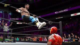WWE 2K17 Gameplay - TJ Perkins Vs Gran Metalik - CWC Championship - PS4/XBoxOne