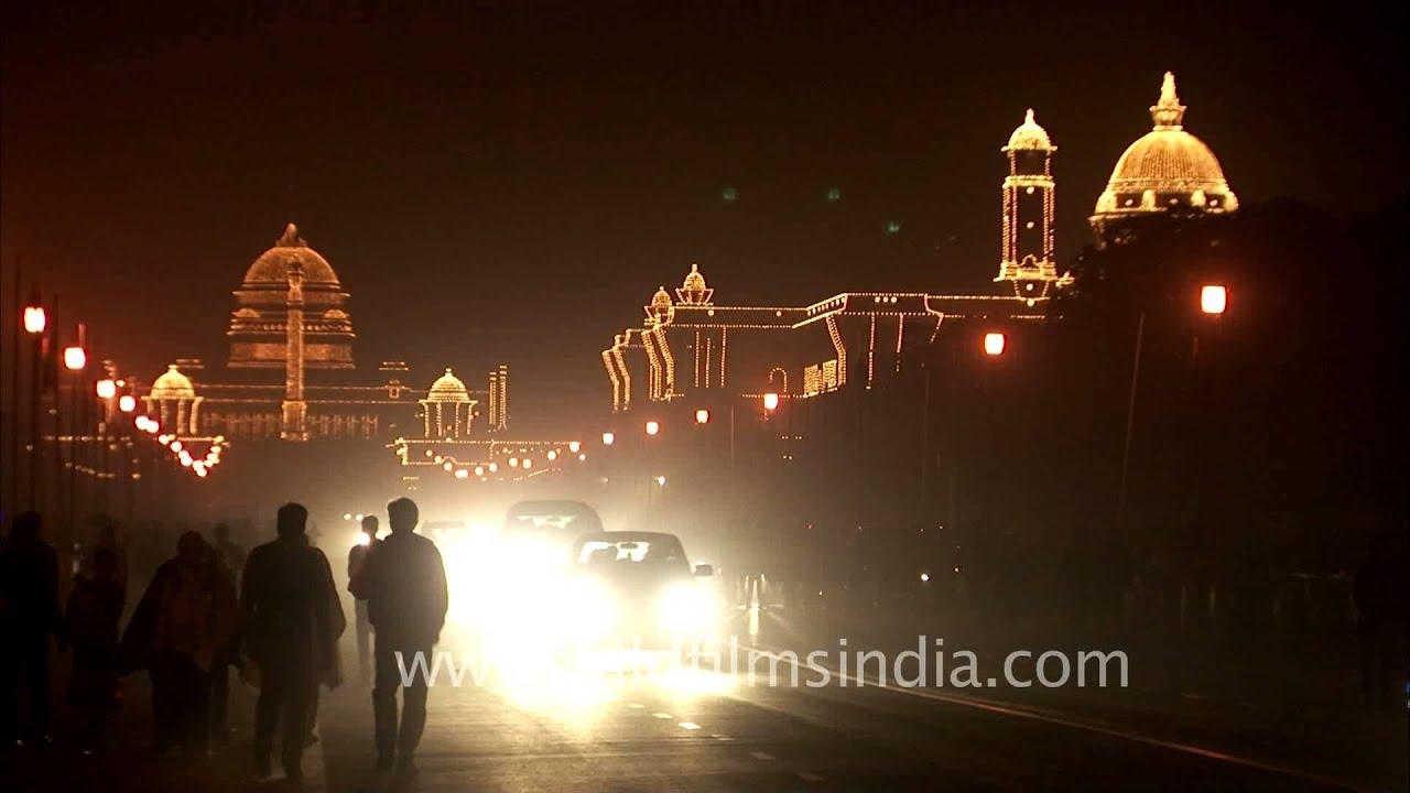 Bhavan at Night Delhi
