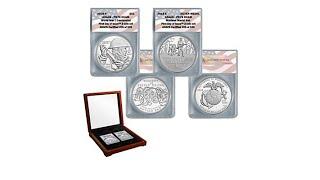 2018 PR70 FDOI World War I Centennial Silver Dollar   Ma...
