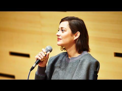NYFF52 Live: Marion Cotillard |