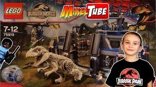 Abrimos el LEGO Jurassic World 75919 con el Indominus Rex en Español