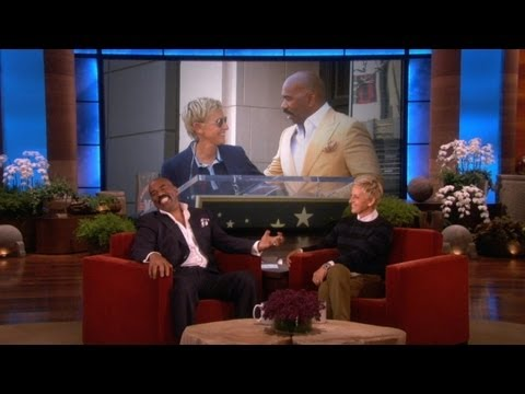 Steve Harvey Gets Personal