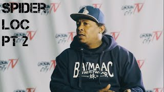 Spider discusses Young Buck,  this is 50 live, The Game, 40 Glocc Hollywood incident (Part 2 of 5)