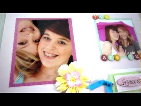 Scrapbooking Lesson 2 - How to layout a scrapbooking page