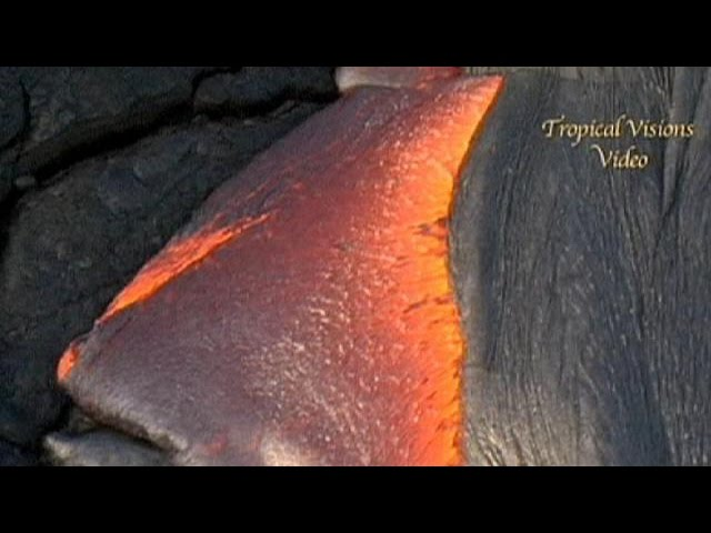 Lava flows from Hawaii's Kilauea volcano - no comment