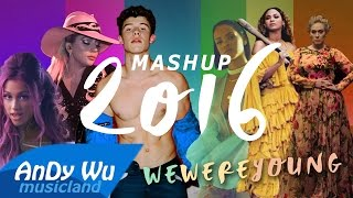 MASHUP 2016 WE WERE YOUNG Best 90 Pop Songs 2016 Year End Mashup By AnDyWuMUSICLAND VideoMp4Mp3.Com
