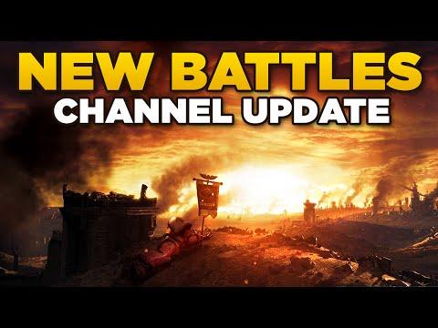 NEW BATTLES | Channel Update - Warhammer 40K Space Marine