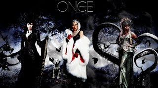 Once Upon a Time - Cruella De Vil, Maleficent, and Ursula