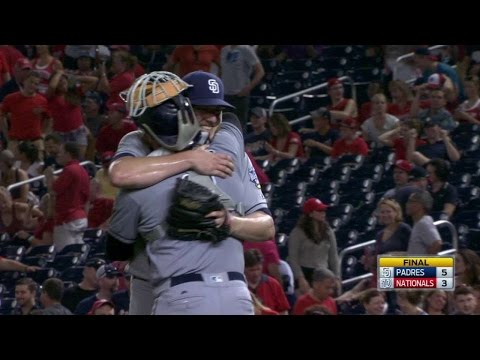 SD@WSH: Maurer slams the door on the Nationals