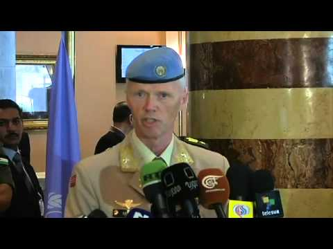 WorldLeadersTV: SYRIA: UNSMIS Gen MOOD PRESS CONF. DAMASCUS 19July 2012