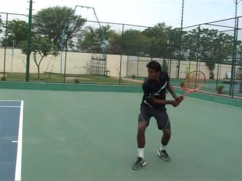 Vishwesh Sinha - Tennis College Scholarship Video