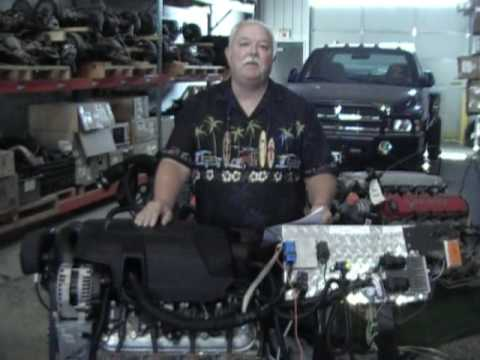 Ready to Run 5.3 Liter Chevrolet Engine / Trans Conversion Hot Rod LMG
