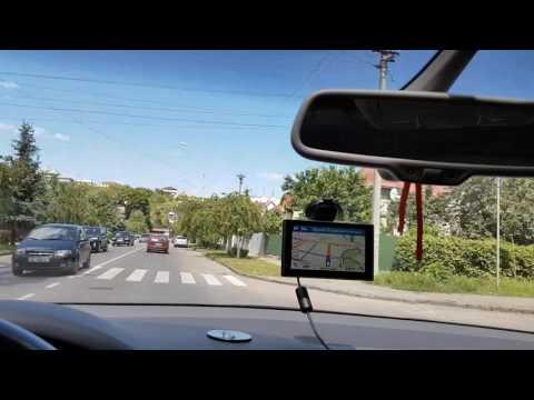 Навигатор Garmin DriveAssist. Установка в автомобиле,настройка и тест в реальных условиях