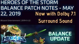 May 22 HUGE balance patch (Now with sound!) Changes for Anub, Anduin, Jaina and so many more!