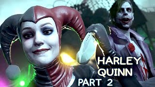 Injustice 2 Mobile Story. Chapter 2: Harley and Joker. The love is dead. (Part 2)