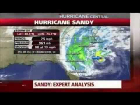 N.J.~Oyster Creek Nuclear Fuel Pool Heats Up From Hurricane Sandy