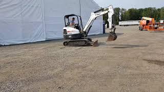 2012 Bobcat E32 Hydraulic Excavator