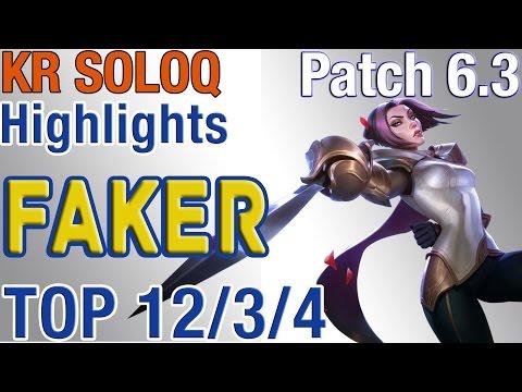 SKT T1 Faker cầm Fiora Solo Top làm Quinn không được chơi LOL