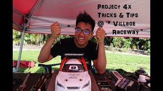 Serpent Project 4x Tricks & tips @ village Raceway