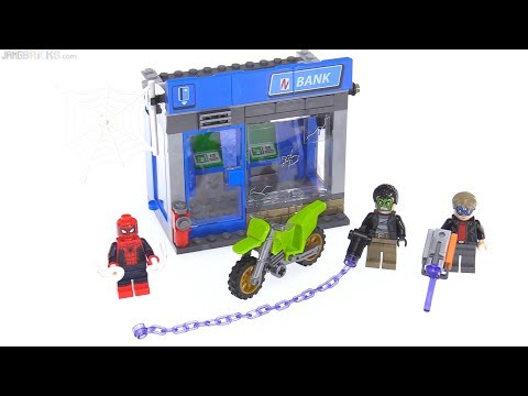 LEGO Spider-Man Homecoming: ATM Heist review! 76082