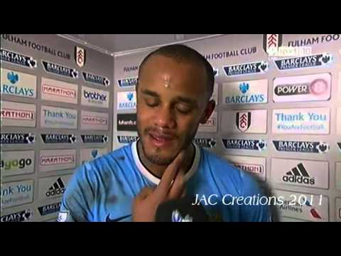 Vincent Kompany Post Match Interview Fulham 2-4 Manchester City