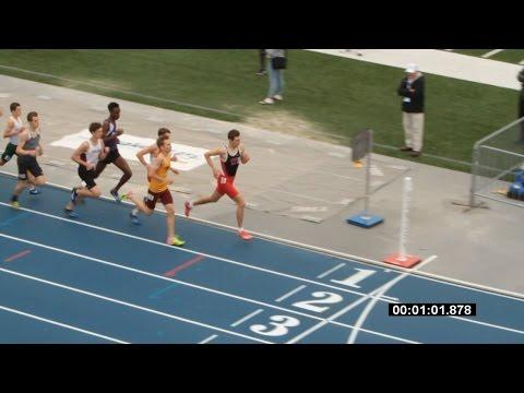 Sam Schillinger - 1600m, 2nd place, IA State 4A Championships, Drake Stadium, 05/20/2017
