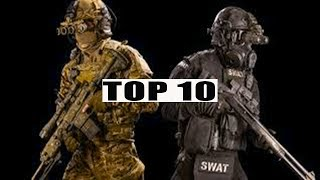 TOP 10 MOST ELITE SPECIAL FORCES IN THE WORLD 2018