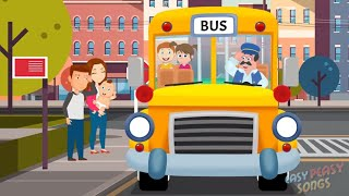 The Wheels on the Bus - Kids Song - Nursery Rhyme