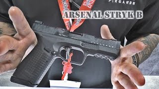Arsenal STRYK B at SHOT Show 2017