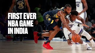 Kings-Pacers Make History Playing First Ever NBA Game In India