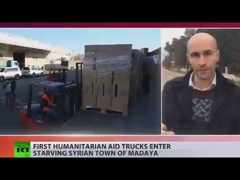 Starving Syrians: Aid trucks to enter besieged Madaya (EXCLUSIVE)